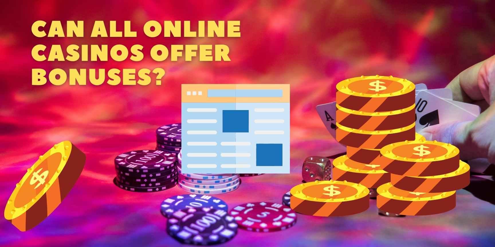 Online casinos offer